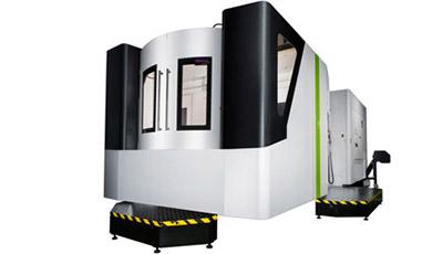 2 Paletten horizonal CNC Bearbeitungszentrum mit 4 Achsen  Hartford MVH-5